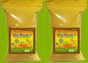 Worm Formula (Crazy Stuff Worm Formula) for White, Micro, Banana & Walter Worms - 2 Lbs.
