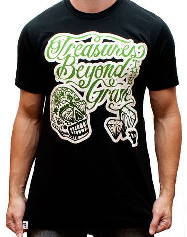 Treasures Beyond The Grave T-Shirt - Black