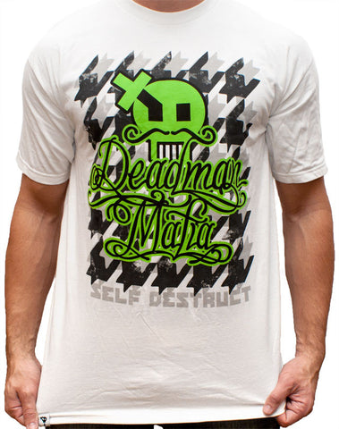 Deadman Mafia T-Shirt (Special Edition) - White