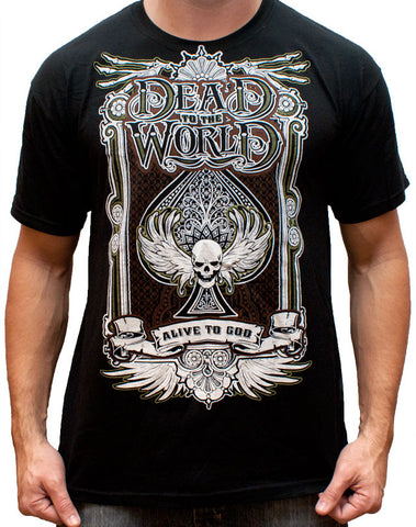 Dead to the World T-Shirt (Classic) - Black