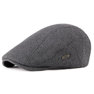 Effentii Gatsby Duckbill Flat Cap Hat for Men