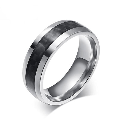 F14 Carbon Fiber Men's Ring