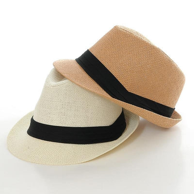Havana Woven Straw Fedora Hat for Men