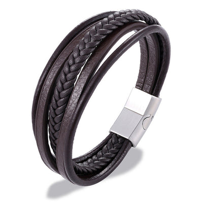 Effentii Majorca Leather Bracelet for Men