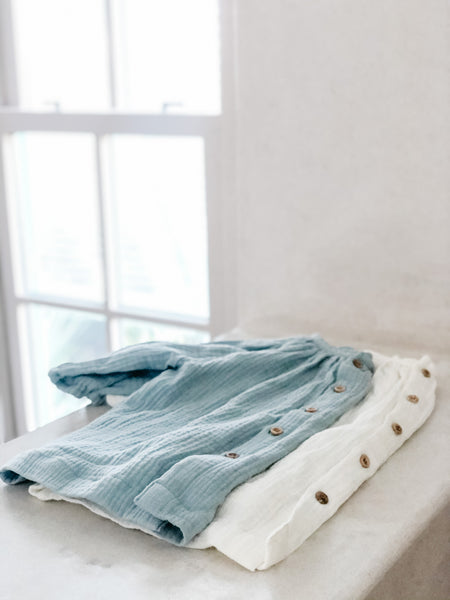 Gauzy Tunic in Seafoam