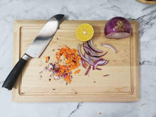Load image into Gallery viewer, Organic maple cutting board