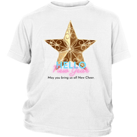 New Years Cheer Youth Shirt (Long Fitted)