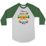 Proud Downs Supporter Raglan Tee