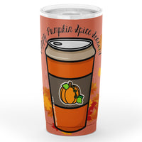 Fall Fun: Pumpkin Spice Tumbler