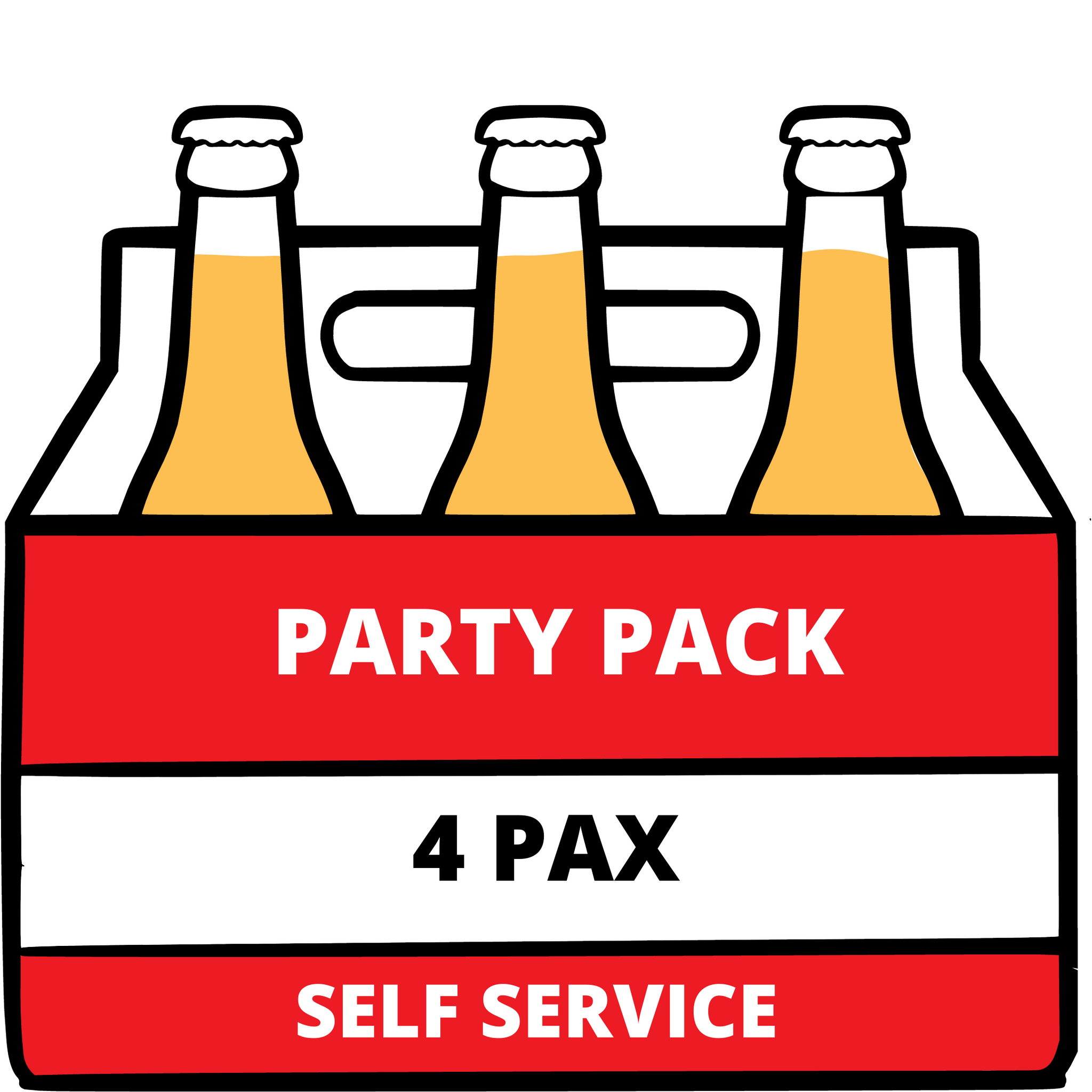 B5B Party Pack (Self Service- 4 pax)