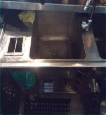 Restaurant double Stainless Sink (900 x 450 x 1.4mtrs)