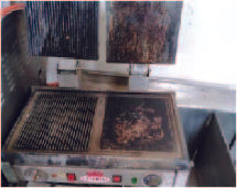 Electric grill (450 x 600 x 900)mm
