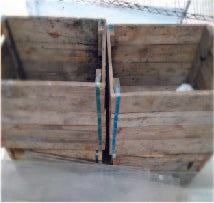 Wooden crates (800 x 500 x 600)mm