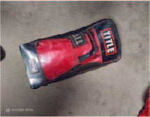 PAIR RED BOXING GLOVES (10OZ)