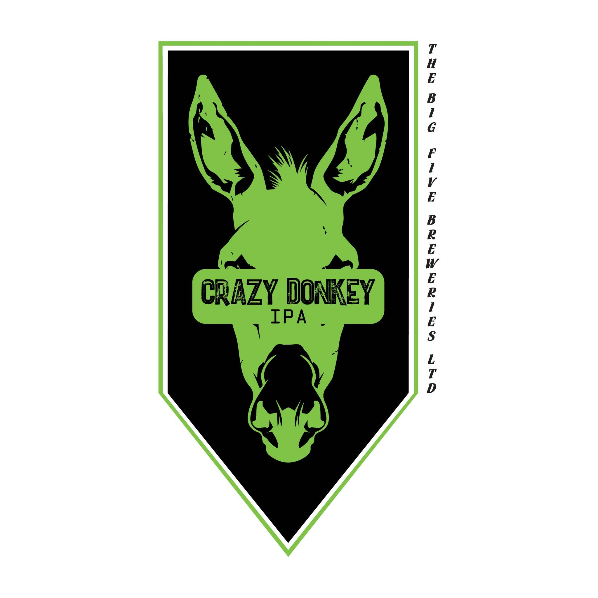 CRAZY DONKEY IPA GROWLER