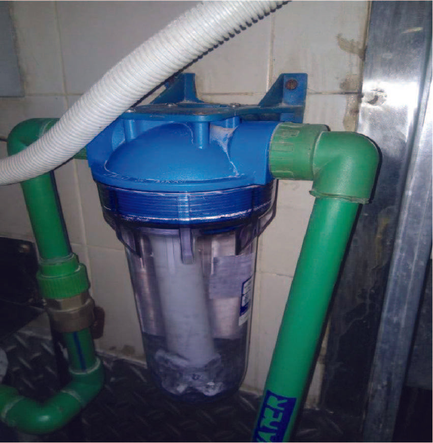 WATER SOFTENER - FOR THE WATER SUPPLY TO THE ELECTRICAL STEAM BOILER