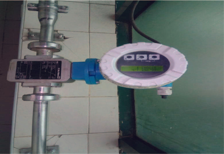 DN25 ENDRESS HAUSER DIGITAL STAINLESS STEEL FLOW METER