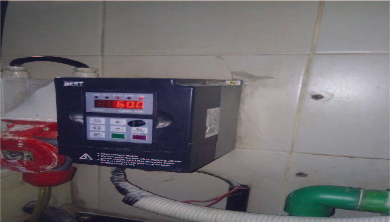 MASH PUMP VARIABLE SPEED DRIVE