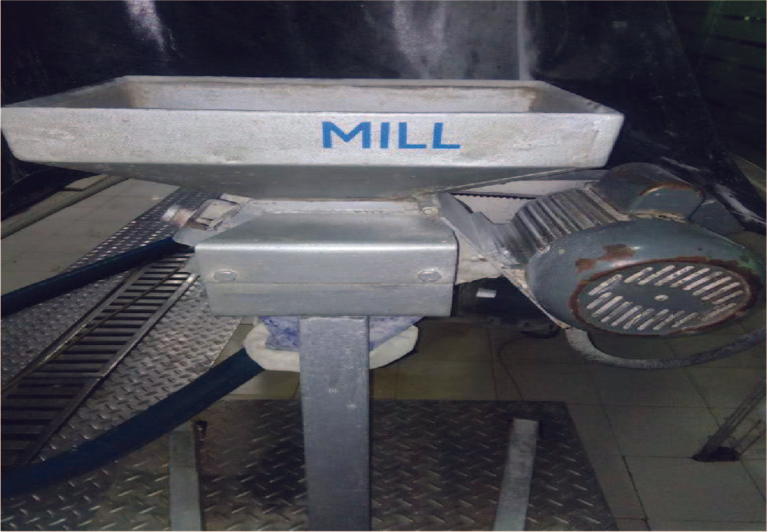MALT MILL (2 ROLLER, SINGLE PHASE)