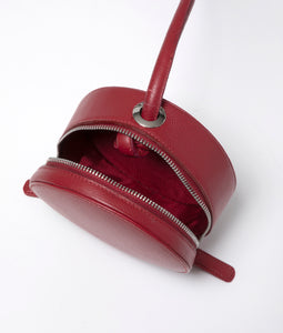 -Pre order 先行予約- Cherry bag Dark red
