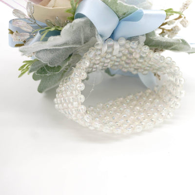 Formal Light Blue Corsage