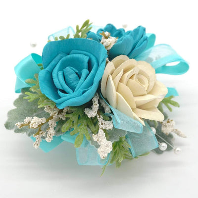 Timeless Teal Corsage
