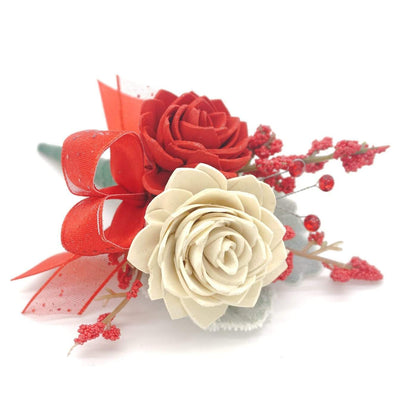 Formal Red Boutonniere