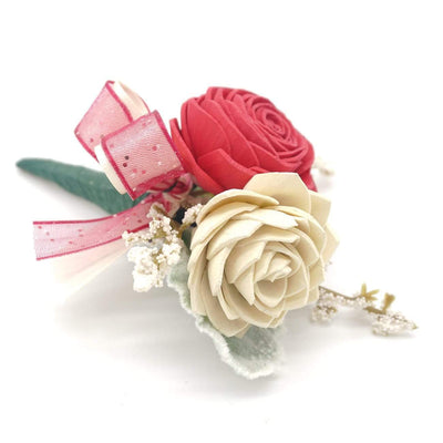 Formal Hot Pink Boutonniere