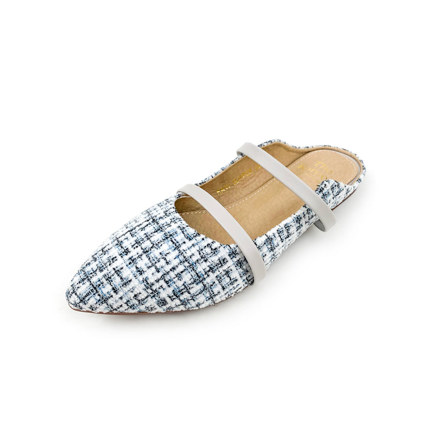 Kayi Slipper - Light Grey Flannel