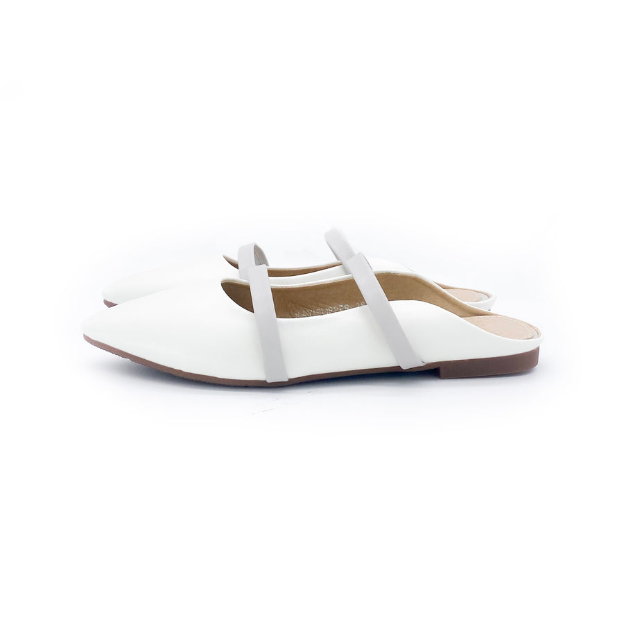 Kayi Slipper - White