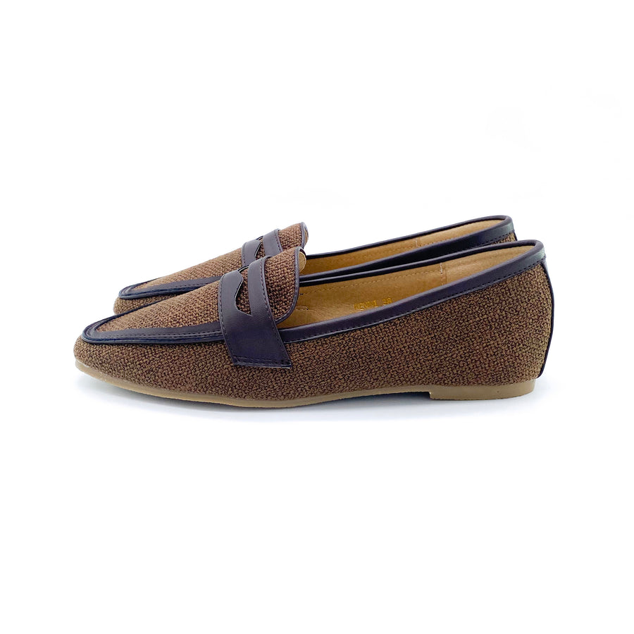 Kenni Loafers - Brown