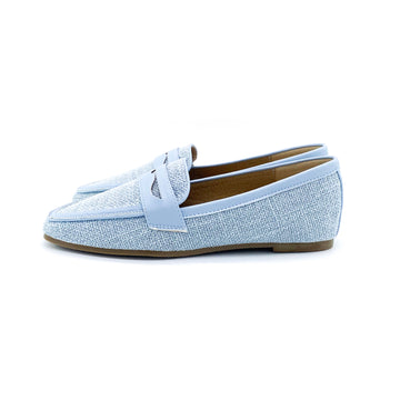 Kenni Loafers - Light Blue