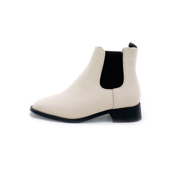 Karl Chelsea boot White