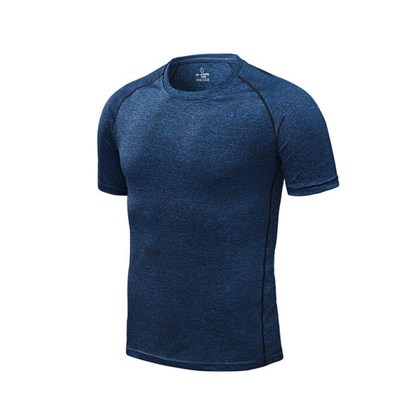 Men's Running T-Shirts, Quick Dry Compression Sport T-Shirts, Fitness Gym Running Shirts