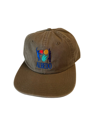 6-Panel Low Profile Albedo Beach Hat