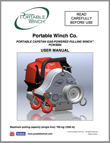PCW3000 User Manual