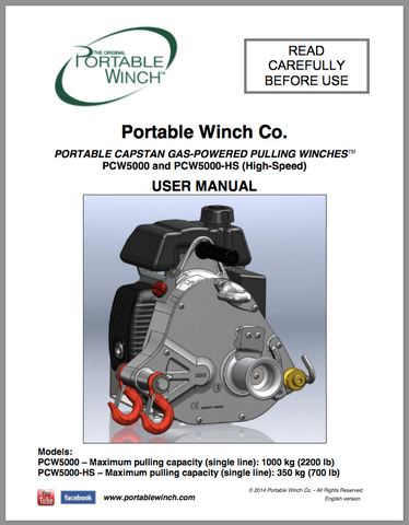 PCW5000 User Manual