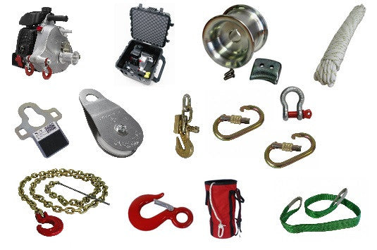 Portable Winch PCW5000 Multi-Purpose Kit (Ships Free)