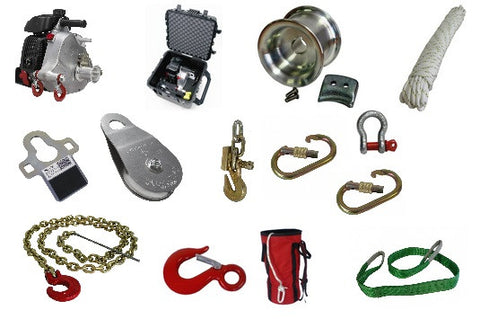 Portable Winch PCW5000 Multi-Purpose Kit