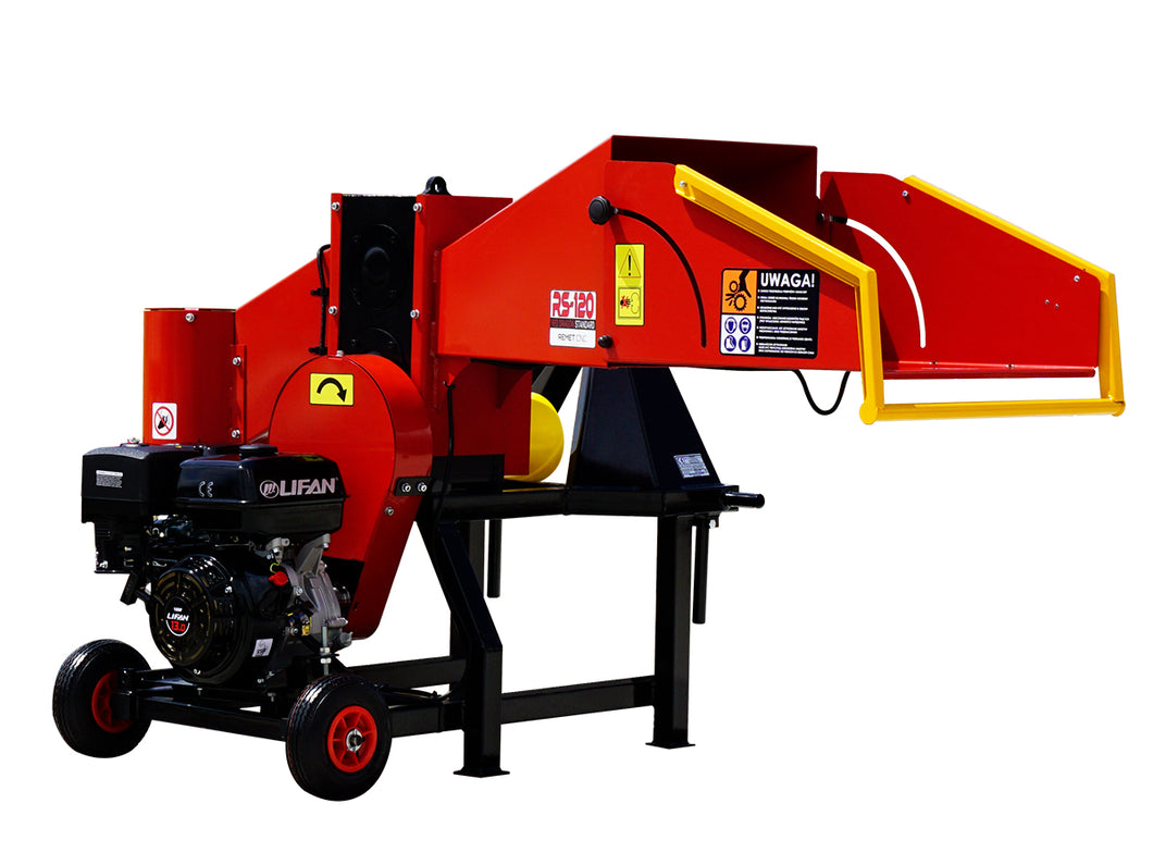 Red Dragon RS-120 Dual-Drive Wood Chunker