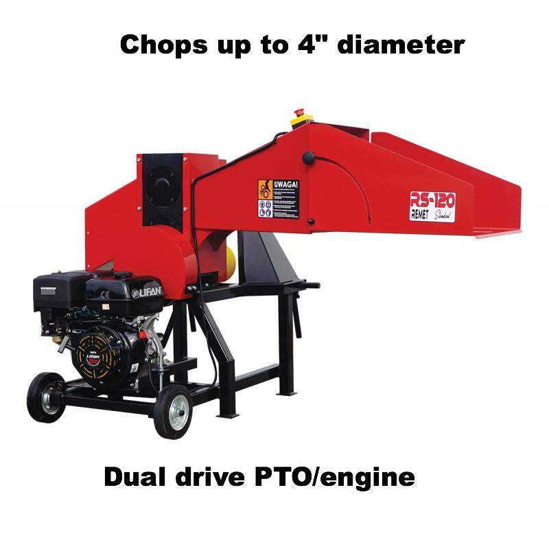 Red Dragon 120 Dual-Drive (PTO/engine)