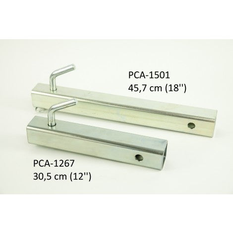Square Tubing for Winch Support Plate