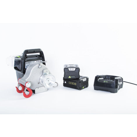 PCW3000-Li-BK Winch with Batteries and Charger