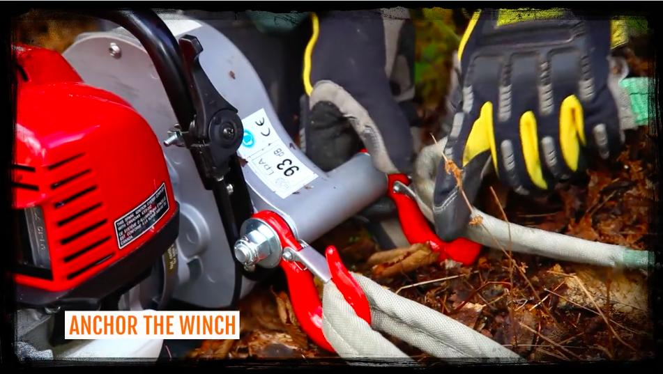 Portable Winch PCW3000 Hunting Kit
