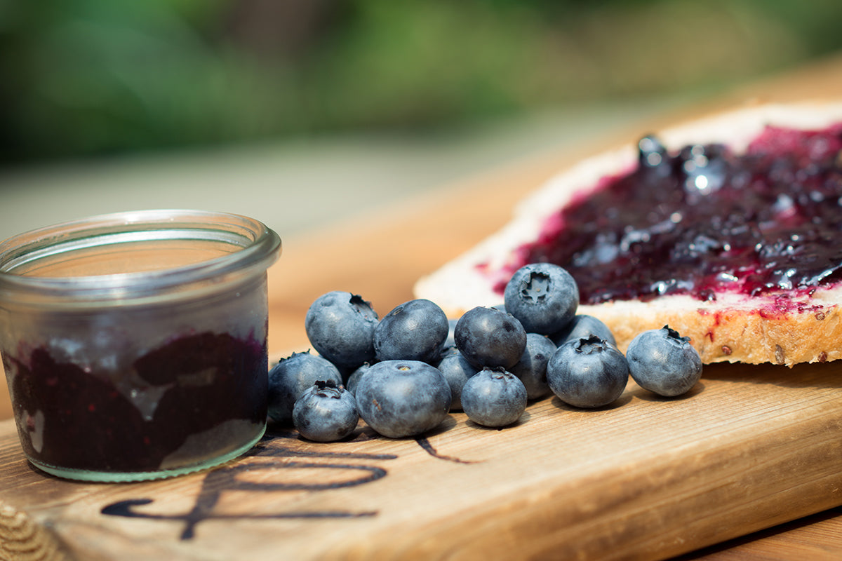 BC Blueberry Lemongrass Gin Preserve