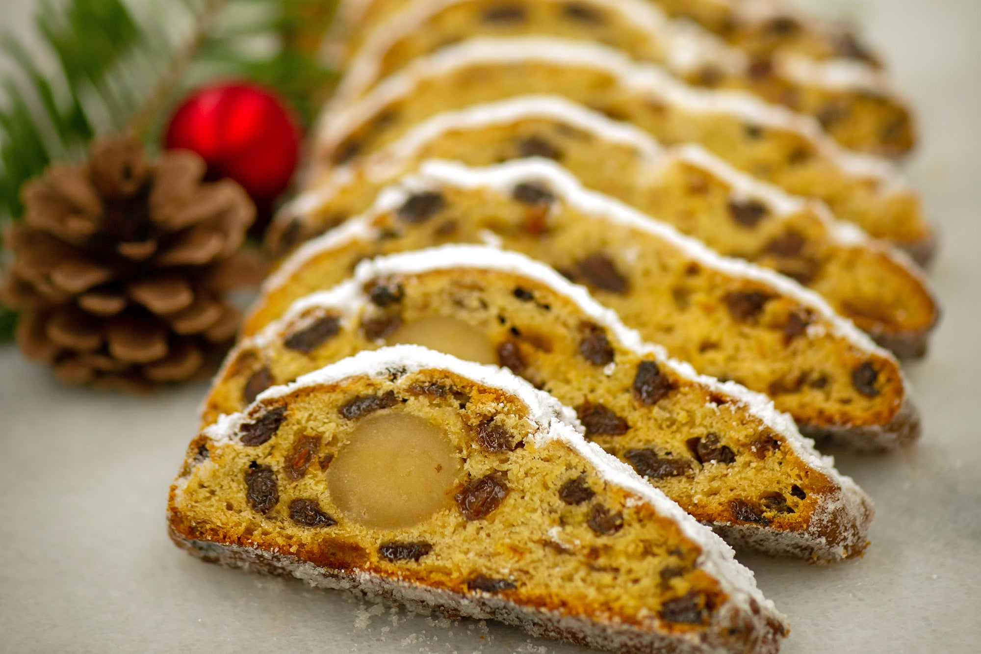 Traditional German Stollen