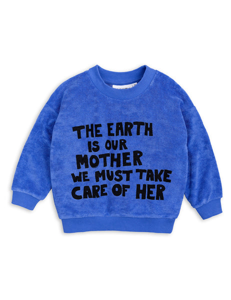 Mother Earth sweat - Blue