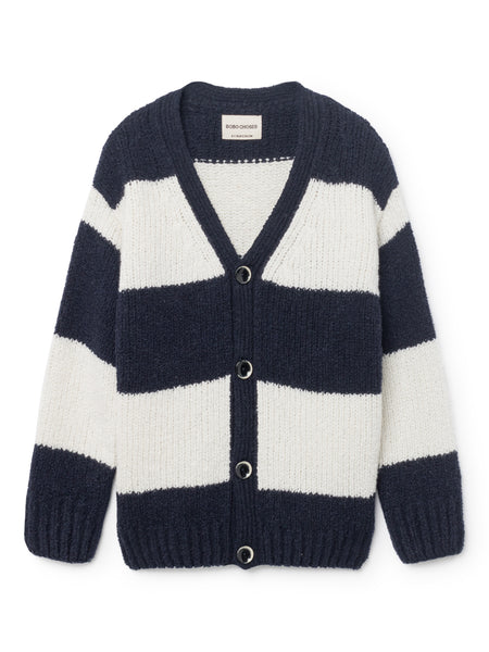 Cardigan Big Stripe