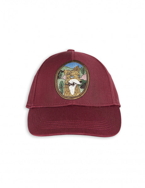 Fox Embroidery Cap