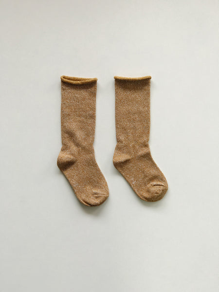 Sparkle Socks - Gold
